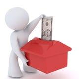 Investierung im Haus Lizenzfreie Stockfotos