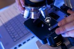 Investigação científica Imagens de Stock Royalty Free