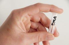 Investigação científica da química do ADN Imagem de Stock Royalty Free