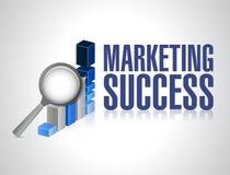 Investigação do gráfico do sucesso de mercado Foto de Stock Royalty Free