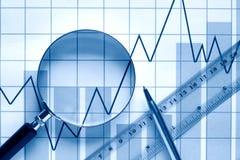 Investigação empresarial Fotografia de Stock