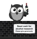 Investigación de la bebida Fotografía de archivo