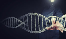 Investigación de la bioquímica stock de ilustración