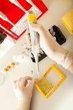 Investigación de la DNA imagen de archivo libre de regalías