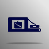 Investigación del equipaje Imagenes de archivo