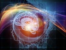 Investigación en la mente Imagenes de archivo