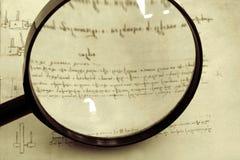 Investigación histórica Foto de archivo libre de regalías