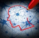 Investigación de la neurología Imagenes de archivo