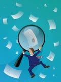 Investigador de factos Imagens de Stock