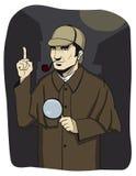 Investigador Holmes Foto de Stock Royalty Free