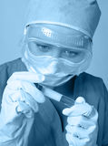 Investigador no laboratório Imagem de Stock