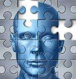 Investigação médica do cérebro humano Imagem de Stock