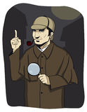 Investigateur Holmes Photo libre de droits