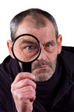Investigating! royalty free stock image
