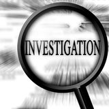 Investigation Stock Image