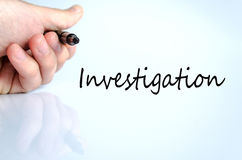 Investigation Concept Stock Photography