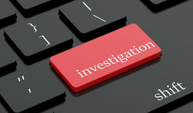Investigation Concept Stock Image