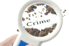 Investigation of  a crime scene. Royalty Free Stock Photography