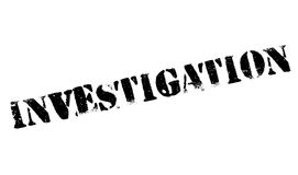 Investigation stamp rubber grunge Royalty Free Stock Image