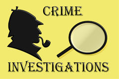 Investigations Royalty Free Stock Photography