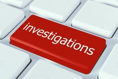 Investigations stock photos