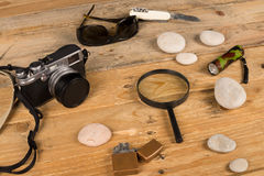 Investigator kit Stock Images