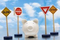 Investimenti rischiosi Fotografia Stock