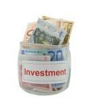 Investimento fotos de stock