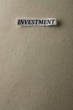 Investimento Fotografia Stock Libera da Diritti