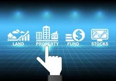 investimento ilustração royalty free