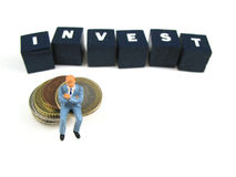 Investimento Fotografia de Stock Royalty Free