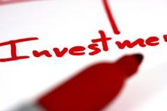 Investimento fotografie stock
