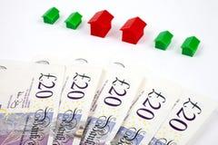 Investimento in alloggiamento Immagine Stock