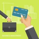 Investimento aziendale Fotografia Stock