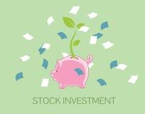 Investimento conservado em estoque Imagens de Stock