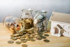 Investimento da promoção imobiliária ou da propriedade fotografia de stock royalty free