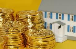Investimento de bens imobiliários Imagem de Stock