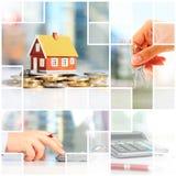 Investimento di bene immobile Fotografia Stock