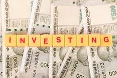 Investimento do dinheiro imagens de stock royalty free