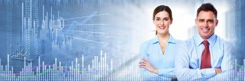 Investimento do mercado de valores de ação imagens de stock royalty free