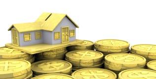 Investimento domestico Fotografie Stock