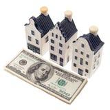 Investimento e finanza di bene immobile Fotografia Stock Libera da Diritti
