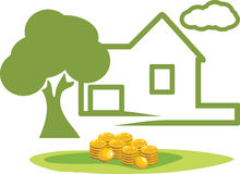 Investimento em bens imobiliários Fotos de Stock Royalty Free