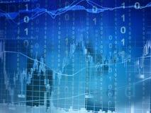 Investimento em linha Imagem de Stock