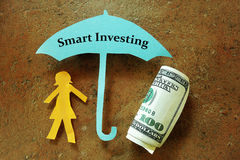 Investimento esperto Foto de Stock Royalty Free