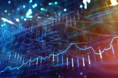 Investimento, estoque e textura do lucro Imagem de Stock Royalty Free