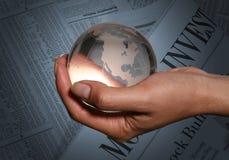 Investimento global Fotografia de Stock Royalty Free