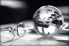 Investimento globale Fotografia Stock
