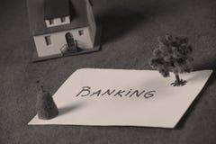 Investimento in immobili, contante Immagini Stock