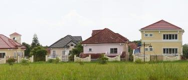 Investimento moderno dei beni immobili di suddivisione Fotografie Stock
